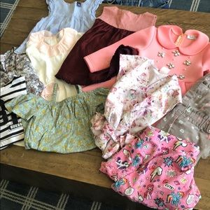 Girls Size 3T Bundle 10 Pieces